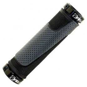 Bike Grips VELO MTB D3 130 mm black-grey pair