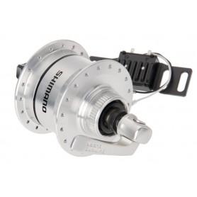 SHIMANO Nabendynamo DH-3D72 Ultegra 6V/3W 32Loch Centerlock silber (+Überspannungsschutz)