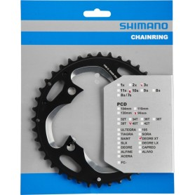 Shimano Chainring FC-M782 XT 40 teeth (AN) 10-speed PCD 96mm black