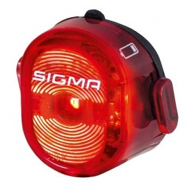 Rücklicht NUGGET II, USB, mit  K~, Sigma Licht, 15050