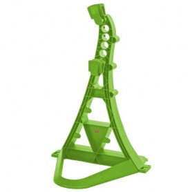 Multifunctional bicycle stand TURRIX Hebie, green