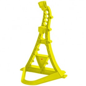 Multifunctional bicycle stand TURRIX Hebie, yellow