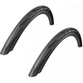 2x Schwalbe 25-584 ONE V-Guard Foldable,black-skin