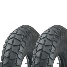 2x tire Impac IS311 4PR 3.00-8 grey