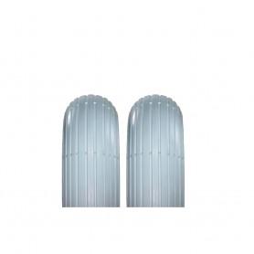 "2x Reifen Impac IS300 2PR 6x1 1/4"" 32-86 grau Rille"