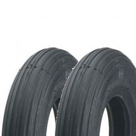 2x tire Impac 260x85 / 300-4 IS300 4PR 260x85 / 300-4 black