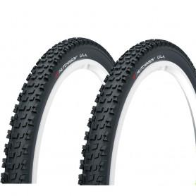 2x Hutchinson tire Gila TLR 54-622 foldable black tubeless ready