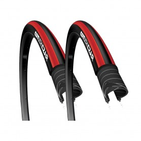 2x CST tire Race Czar 27 TPI 23-622 28 inch wire black red