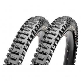 2x Maxxis Reife Minion DRear wheel II FR TLR 58-622 foldable black 3C MaxxTerra EXO