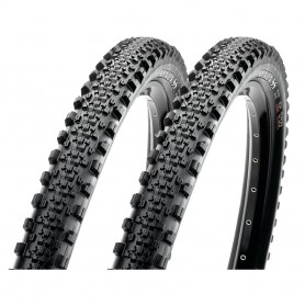 2x Maxxis tire Minion SemiSlick AM TLR 58-622 foldable black EXO Dual