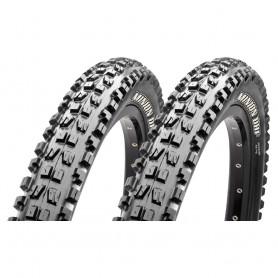 2x Maxxis tire Minion DHF Freeride TLR 63-622 foldable black 3C MaxxTerra EXO
