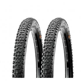 2x Maxxis tire Aggressor TLR DD 58-622 foldable black Dual