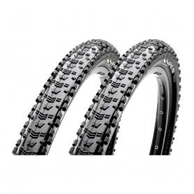2x Maxxis tire Aspen TLR 52-622 foldable black EXO Dual