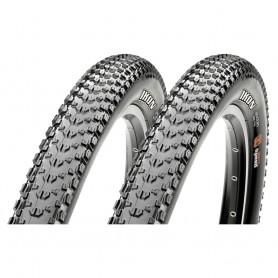 2x Maxxis tire Ikon TLR EXO 57-622 foldable black 3C MaxxSpeed EXO