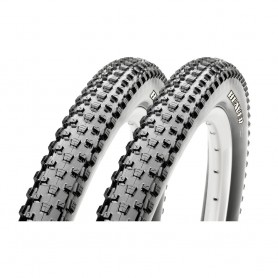 2x Maxxis tire Beaver 50-622 foldable black eXCeption Dual