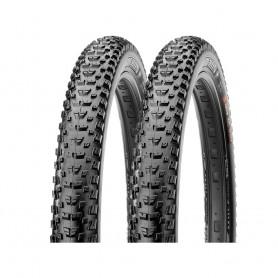 2x Maxxis tire Rekon+ TLR 71-584 foldable black EXO Dual