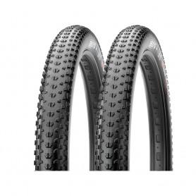 2x Maxxis tire Ikon+ TLR 71-584 foldable black EXO Dual