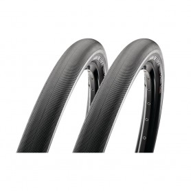 """2x Maxxis bicycle tyre Re-Fuse Cross TLR foldable 50-584 27,5"""" black"""