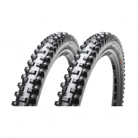 2x Maxxis tire Shorty 61-584 27.5 inch wire black Super Tacky