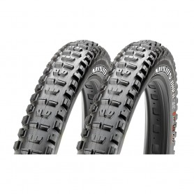 2x Maxxis tire Minion DRear wheel II TLR 58-584 foldable black Dual EXO