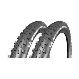 2x Michelin tire Force AM TLR 57-622 foldable black tubeless ready