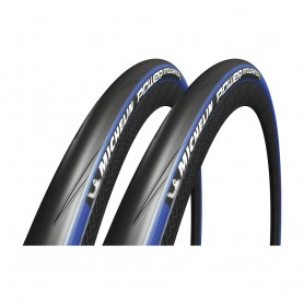 "2x Reifen Michelin Power Endurance faltbar 28"" 700x23C 23-622 schwarz/blau"