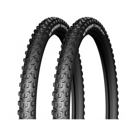 2x Michelin tire Country Grip`R 54-584 27.5 inch wire black