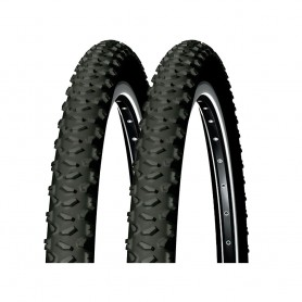 2x Michelin tire Country Trail 52-559 26 inch wire black