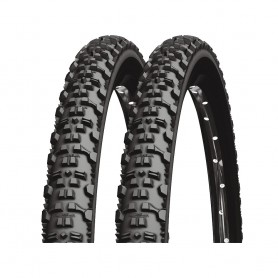 2x Michelin tire Country AT 52-559 26 inch wire black