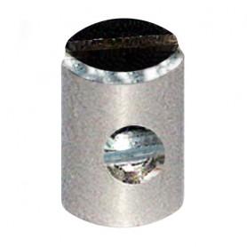 Schwarz Screw Nipple Gas 5*7,5