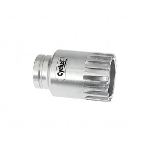 """CYCLUS Innenlager-Abzieher, 3/8"""" Antrieb f. Shimano Compact-Lager (4-kant/Vielz.)"""