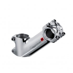 ERGOTEC AH-Vorbau 'High Pike2' HI-POLISH, W40°, A80mm, LK25.4mm safety level 6  zertif. 180/160/120kg (Citybike / E-Bike City/Tr