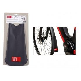 FAHRER 'E-Bike Latz' Spritzlappen Länge 225 mm Breite oben 80 mm schwarz