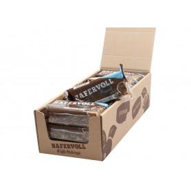 Hafervoll Müsliriegel Flapjacks Kakao-Haselnuss 18-Stück im Karton, je Riegel 65gr