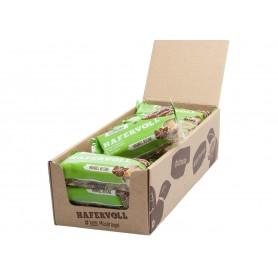 Hafervoll, Müsliriegel, Flapjacks, Mandel-Rosine, 18-Stück im Karton, je Riegel 65g, Ohne Zuckerzusatz, Ohne Chemiestoffe, Veg