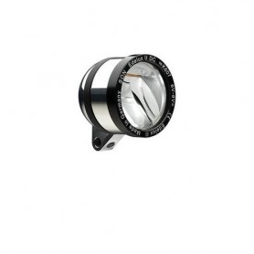 SON 'Edelux II DC' Scheinwerfer poliert 6V, OHNE Kabel, Schalter, Rücklichtausg. , NICHT geeignet bei niedriger Stombegrenzung (