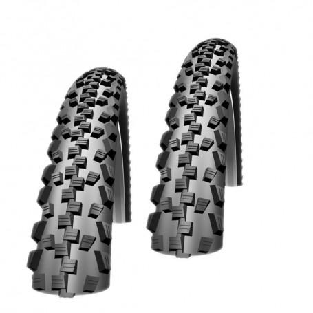 "2x Schwalbe Black Jack Fahrrad Reifen 12"" 16"" 18"" 20"" 24"" 26"" wählbar Kevlar"