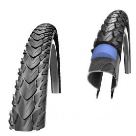"""Schwalbe Marathon Plus Tour Fahrrad Reifen 26"""" 28"""" unplattbar Reflex Draht"""