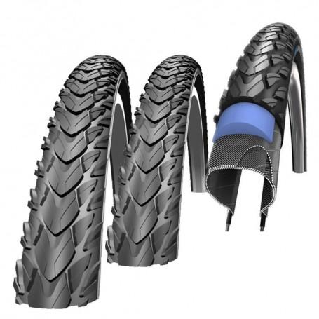 Schwalbe Marathon Plus Fahrrad Reifen unplattbar Reflex 47-622