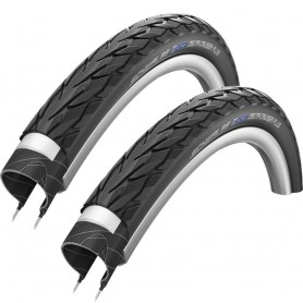 2x Schwalbe 47-622 Delta Cruiser Plus wired, reflex black-skin