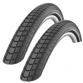 2x Schwalbe 55-406 Big Ben Performance wired, reflex black 20x2.15