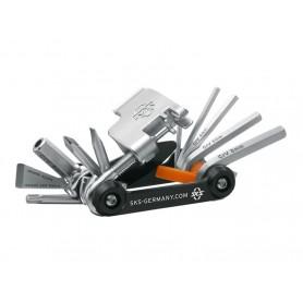 SKS Tom 18 Fahrrad Mini Tool Werkzeug 18 Funktionen 184g rostfrei kompakt