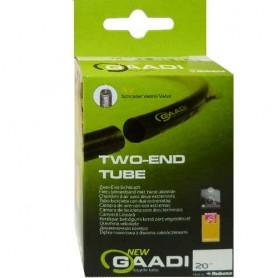 """2x GAADI open bicycle tube 20"""" box 50-54/406 AV-40mm without wheel change"""