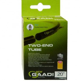 "2x GAADI offener bicycle tube 20"" box 37-57/406 DV-35mm without wheel change"