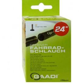 "2x GAADI offener Fahrrad Schlauch 24"" BOX 50-57/507 AV-40mm ohne Laufradwechsel"