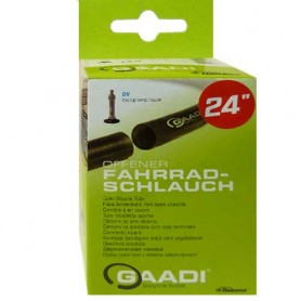"2x GAADI offener bicycle tube 24"" box 50-57/507 DV-35mm without wheel change"