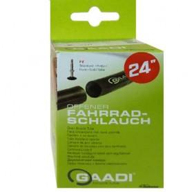 "2x GAADI offener bicycle tube 24"" box 50-57/507 SV-47mm without wheel change"