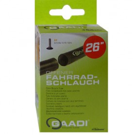 "2x GAADI offener Fahrrad Schlauch 26"" BOX 50-57/559 AV-40mm ohne Laufradwechsel"