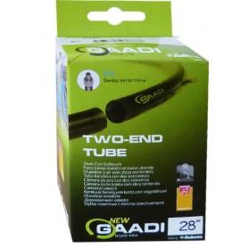"2x GAADI offener bicycle tube 28"" box 28-35/622-635 DV-40mm"