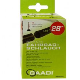 "2x GAADI offener Fahrrad Schlauch 28"" BOX 32-37/622-635 SV-47mm"